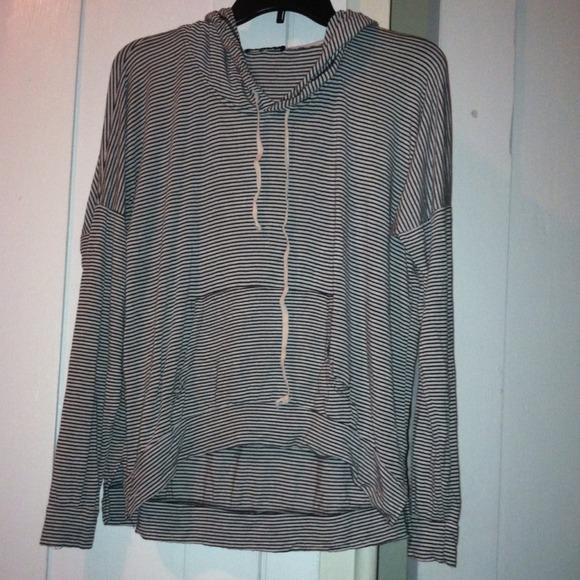 Brandy melville striped layla hoodie from kayla's closet on poshmark