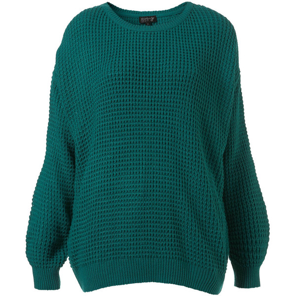 Knitted textured jumper