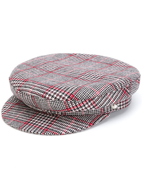 hat houndstooth