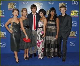 dress ashley tisdale vanessa hudgens zac efron lucas grabeel high school musical 2 grey red black suit olesya rulin mens suit shoes shorts
