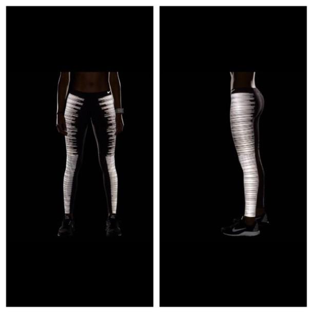 leggings flash glow in the dark glow in the dark