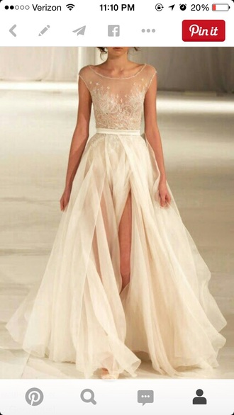 dress gown fashion runway