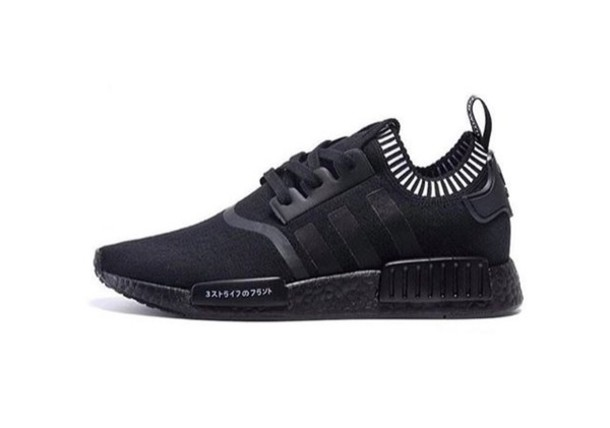 best website dc166 9a048 shoes adidas nmd black all black everything tumblr adidas love nmd adidas  shoes