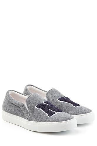 sneakers wool grey shoes