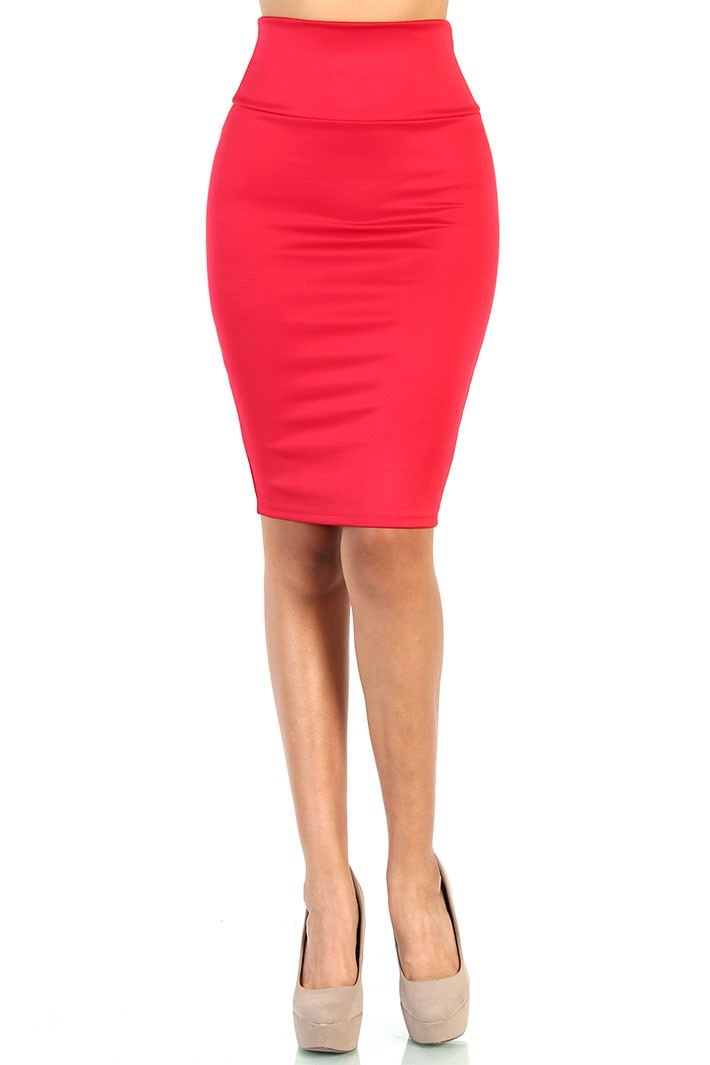 More Details Roland Mouret Arreton Puckered-Stretch Pencil Skirt with Back Zip Details Roland Mouret