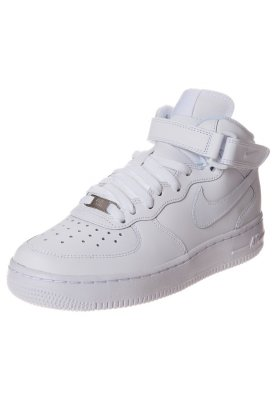 Nike Sportswear AIR FORCE 1 MID '06 - Baskets montantes - blanc - ZALANDO.FR