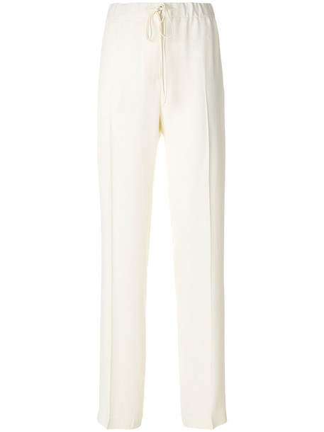 Jil Sander jeans high women nude cotton