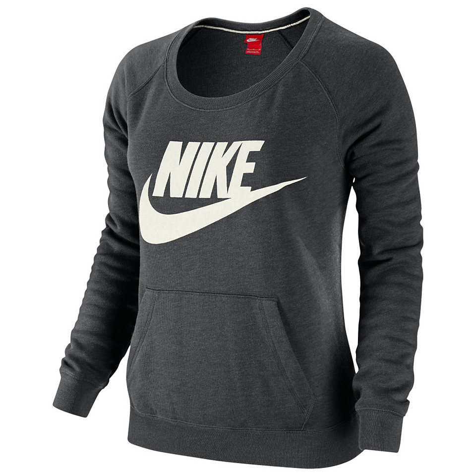 nike rally crew logo sweatshirt damen otto. Black Bedroom Furniture Sets. Home Design Ideas