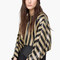 Striped sequin blouse - women | mango