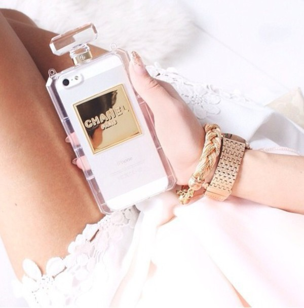 phone cover phone iphone iphone 5 case chanel paris jewelry vintage ...