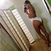 swimwear,kim kardashian,sexy,tank top
