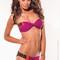 Color block berry bathing suit - on sale