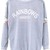 ROMWE | Lace Roses Back Grey Pullover, The Latest Street Fashion