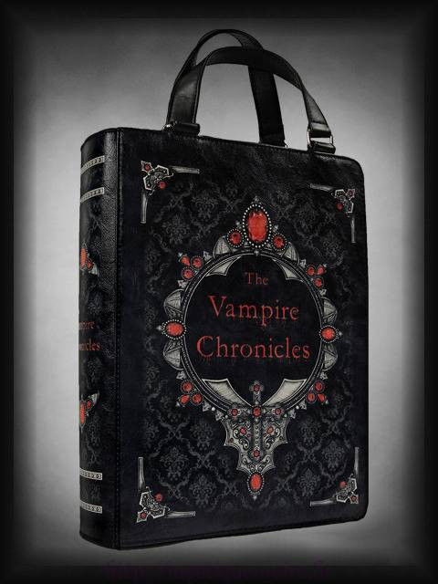 Victorian Vampire Chronicles Book Satchel Shoulder Hand Bag Goth Halloween | eBay