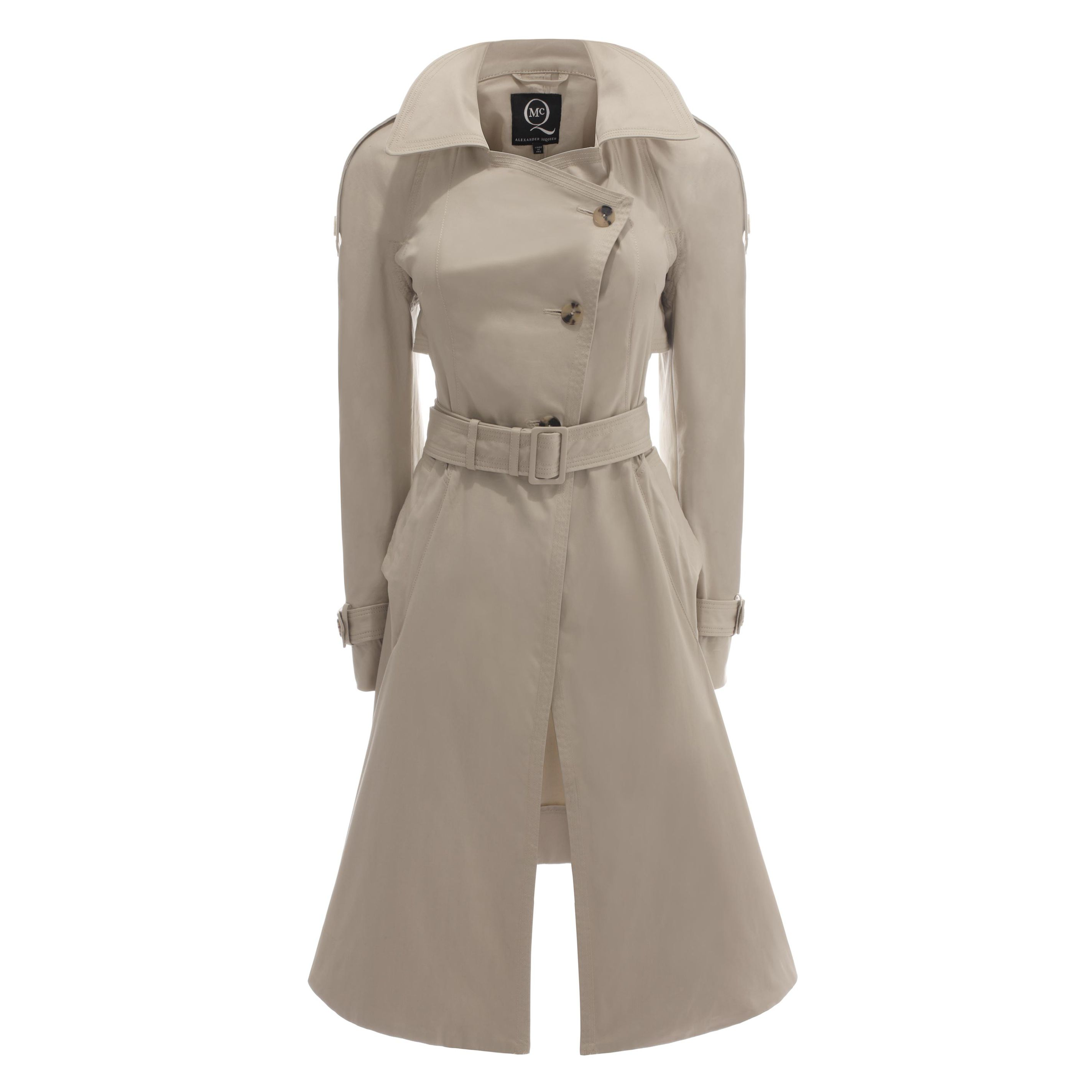 Asymmetric Trench Coat McQ | Coat | Ready To Wear