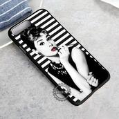 top,movie,audrey hepburn,iphone case,phone cover,iphone x case,iphone 8 case,iphone7case,iphone7,iphone 6 case,iphone6,iphone 5 case,iphone 4 case,iphone4case