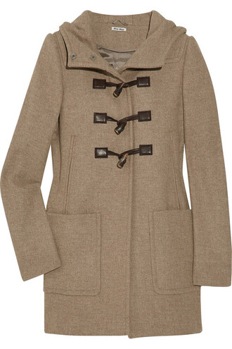 coat duffle coat jacket
