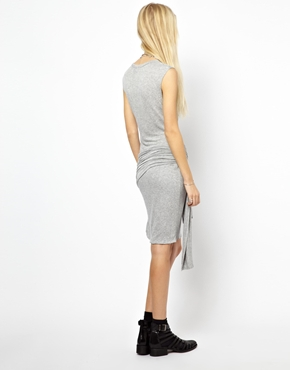 LNA | LnA Dress With Wrap Detail at ASOS