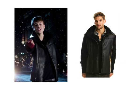 justin bieber black jacket leather jacket