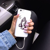 phone cover,drake,hot,dope,drake iphone case,white,chanel iphone 6 6s case