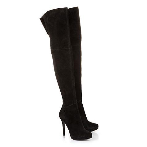 Buffalo Overknee-Stiefel in schwarz | 115705 – im BUFFALO® Online-Shop