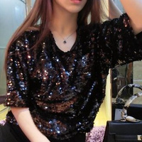 Backless sequin mesh top · fashion struck · online store powered by storenvy
