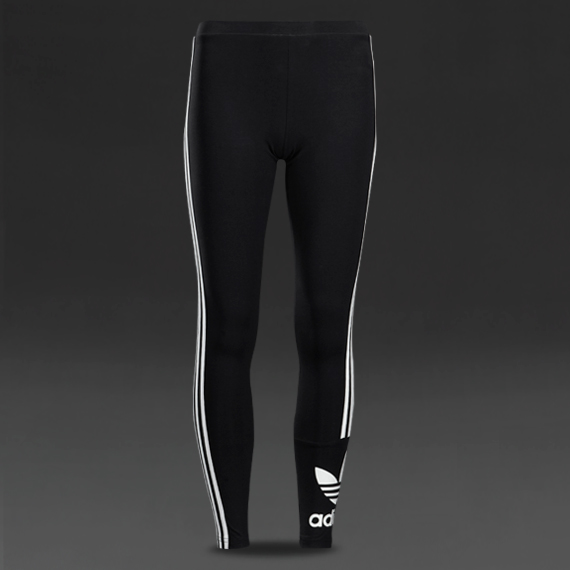 68d1b95697ac Womens Clothing - adidas Originals Womens 3 Stripes Leggings - Black