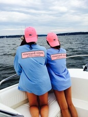 vineyard vines,blue shirt,shirt,t-shirt
