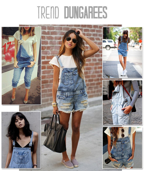 shorts denim boyfriend jeans overalls light wash acid wash dungarees sunglasses