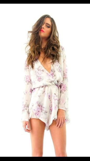 dress romper miss holly fashion