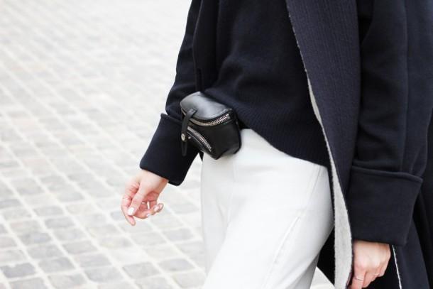 my dubio blogger coat bag comfy sweater pants belt hat scarf