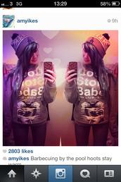 hat,beanie,instagram,red,blue,la,dodgers,amyikes,wool,bobble,bobblehat