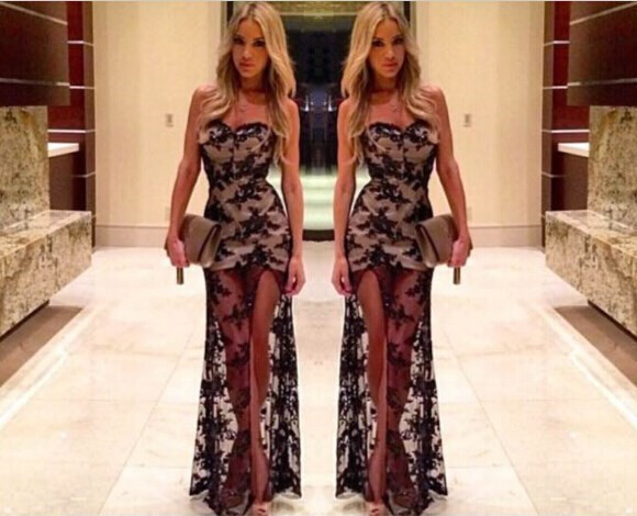 Patricia lace gown