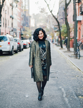 shoes,mimi & chichi blog,blogger,coat,dress,tights,fall outfits,winter outfits,boots,clutch,jaquard coat