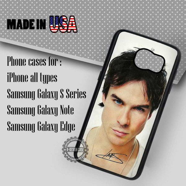 phone cover autograph vampire diaries