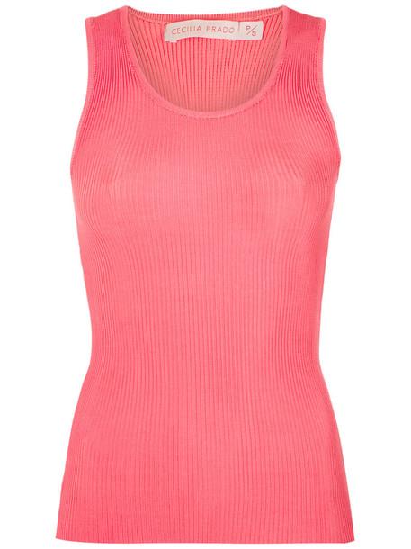 Cecilia Prado tank top top women spandex knit