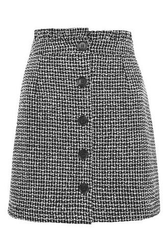 skirt monochrome