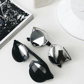 sunglasses black and white sun