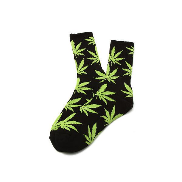 BLACK WEED SOCKS – HolyPink