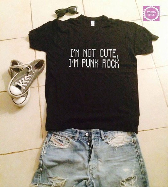 top too cute for punk rock