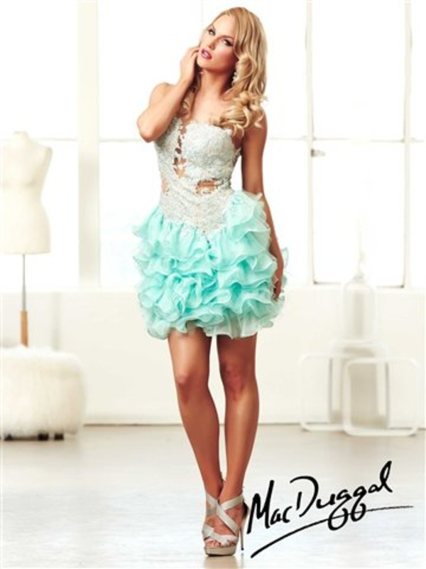 dress mac duggal mac duggal prom dresses lace lace prom dress short babydoll cute prom dress
