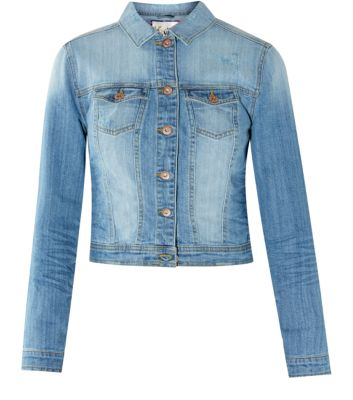 Light Blue Premium Denim Jacket