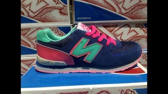 shoes new balance sneakers kickkspott leather originals colorful beautiful wishes