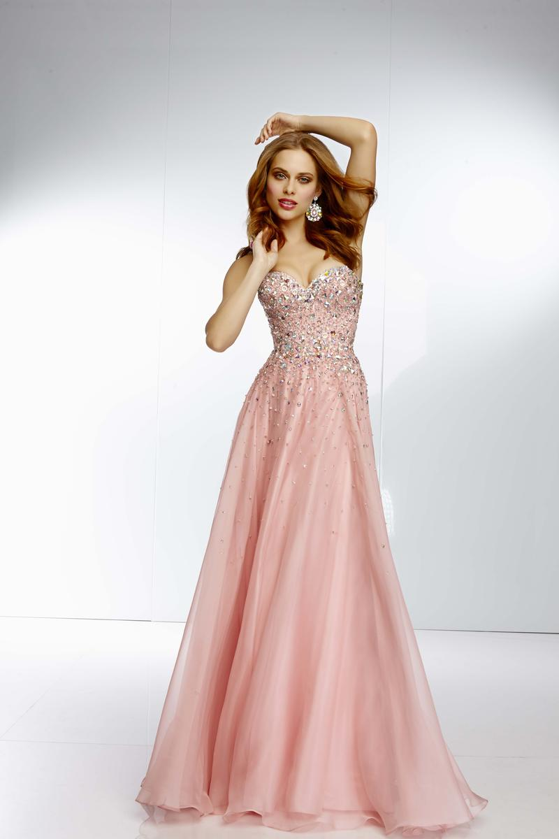 Mori Lee 95002 Paparazzi Scatter Beaded Prom Dress