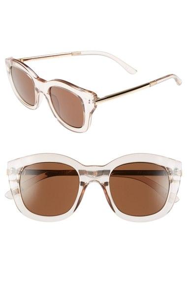 7807095546f Le Specs  Runaways Luxe  50mm Cat Eye Sunglasses