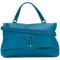 Zanellato - postina tote bag - women - leather - one size, blue, leather