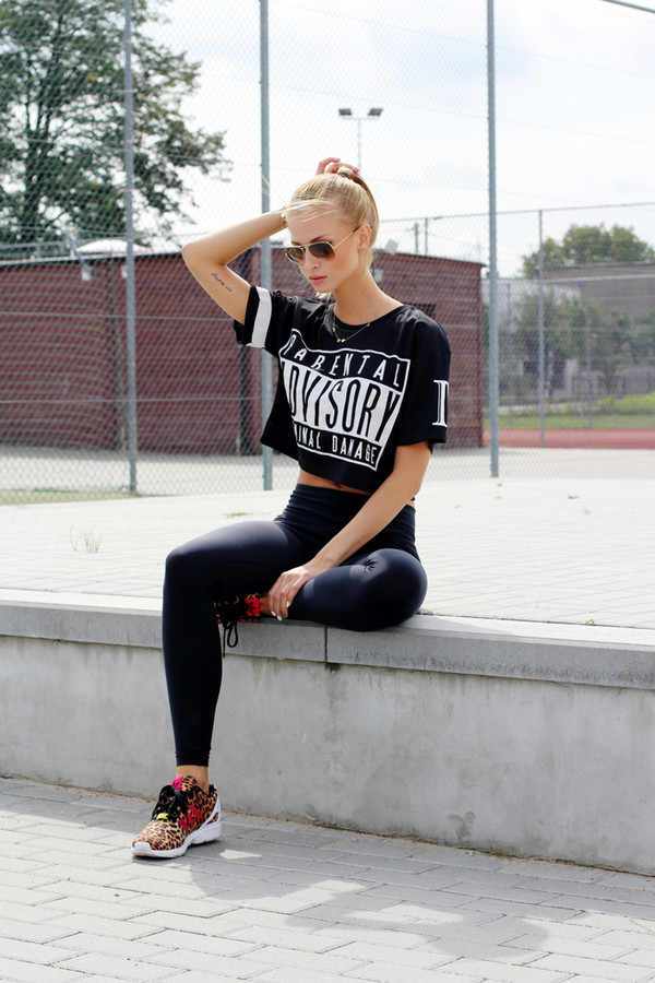 beauty fashion shopping shoes t-shirt leggings sunglasses jewels