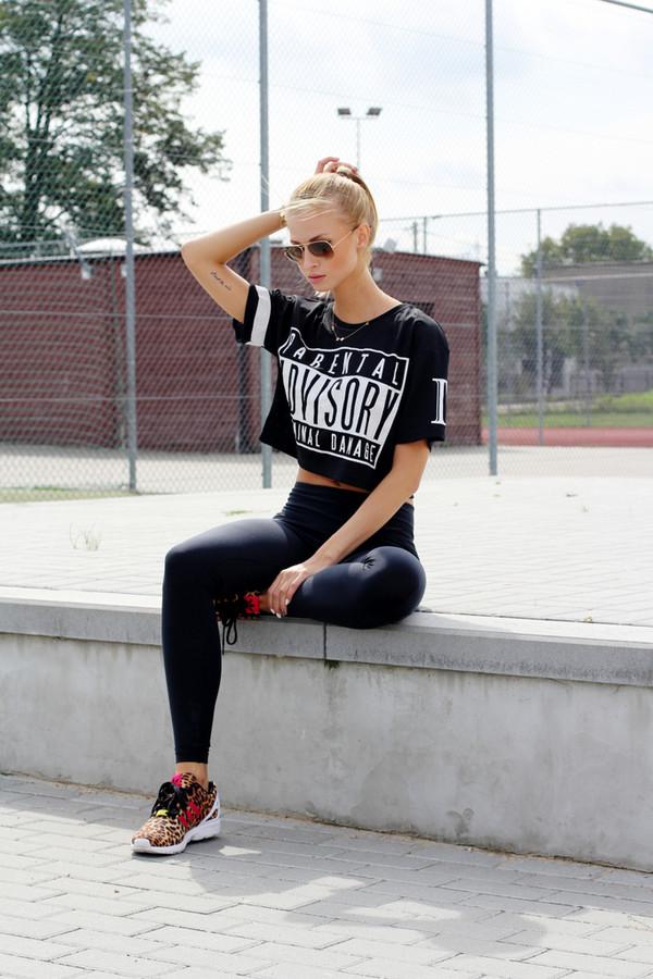 beauty fashion shopping shoes t-shirt leggings sunglasses jewels