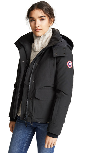 Canada Goose Blakely Parka in black