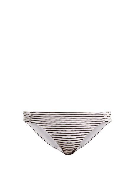 Biondi bikini striped bikini black swimwear